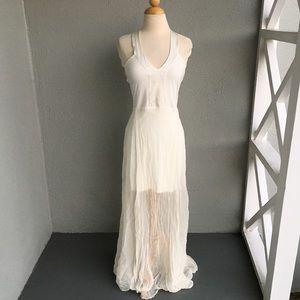 NAIMA White Dress Size M